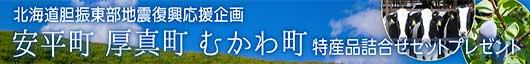 北海道胆振東部地震 復興応援キャンペーン