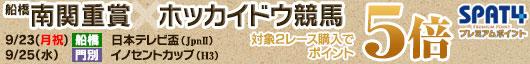 南関重賞(日本テレビ盃)×ホッカイドウ競馬(イノセントカップ)キャンペーン