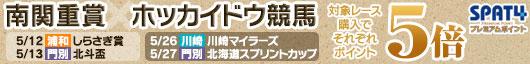 南関重賞(浦和・川崎)xホッカイドウ競馬(北斗盃・北海道SC)キャンペーン